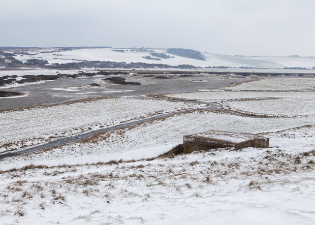Cuckmere Haven and WW2 defence
