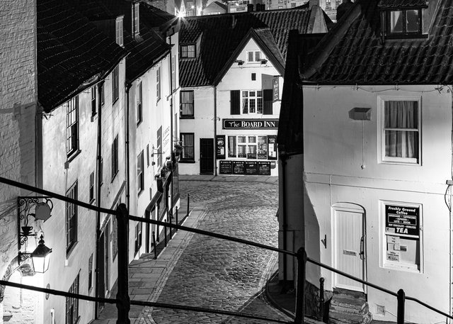 Church Lane from 199 Steps, Whitby