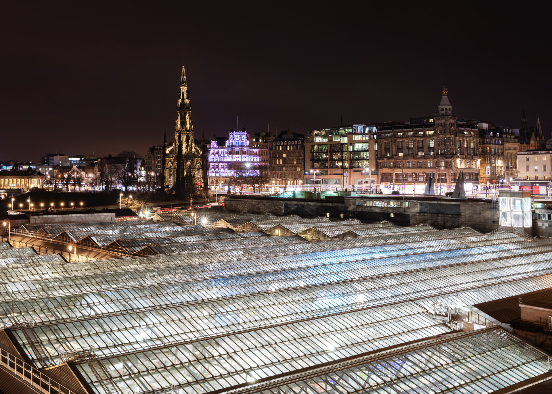 Edinburgh Waverley Railway Station I