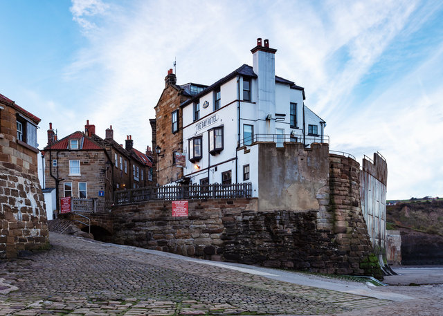 The Bay Hotel, Robin Hood's Bay
