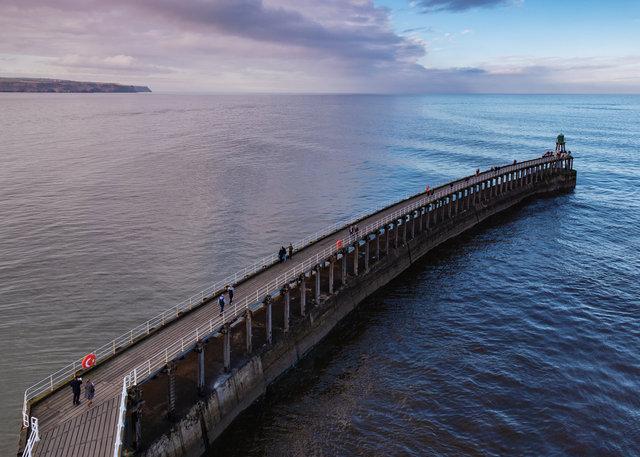 West Pier Breakwater