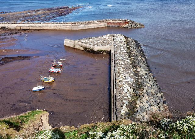 Staithes Breakwaters