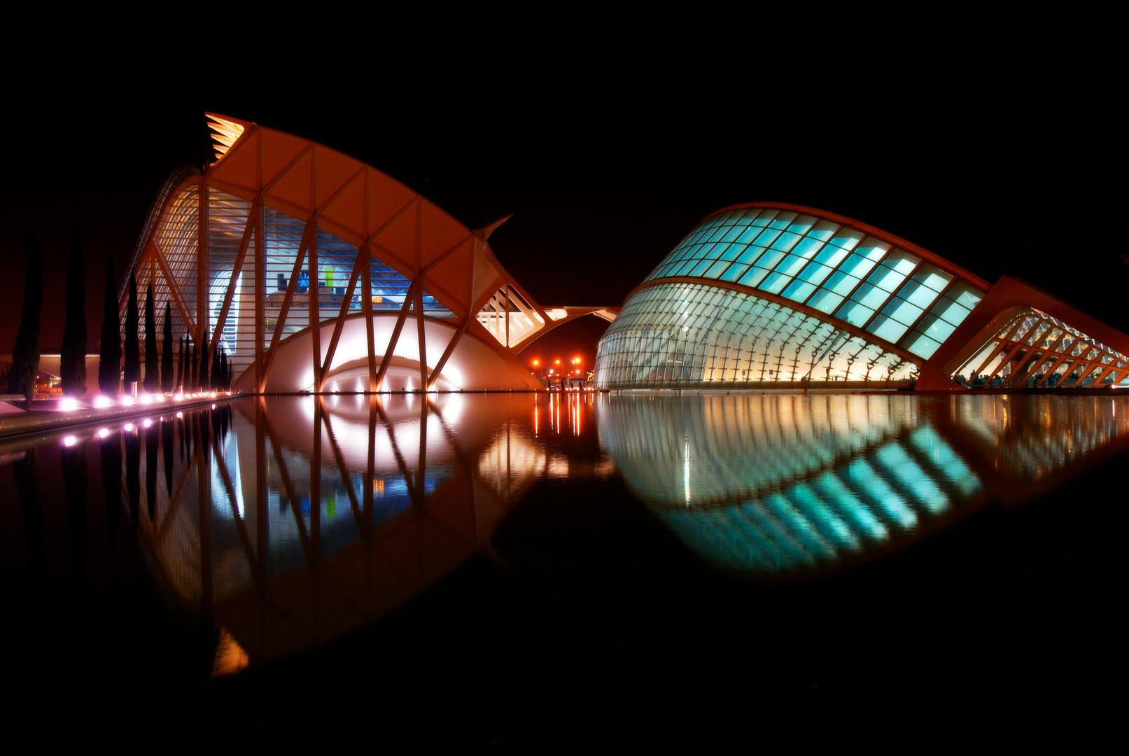 Calatrava's Architectuur in Valencia, Spanje