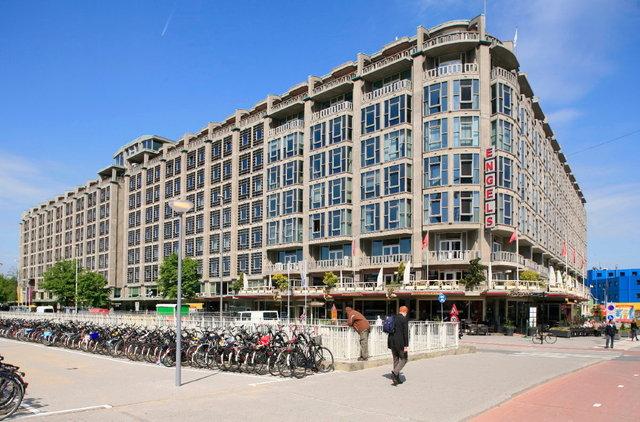 rotterdam -groot handelsgebouw