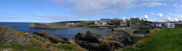 Panoramic Portsoy by Alison Gracie