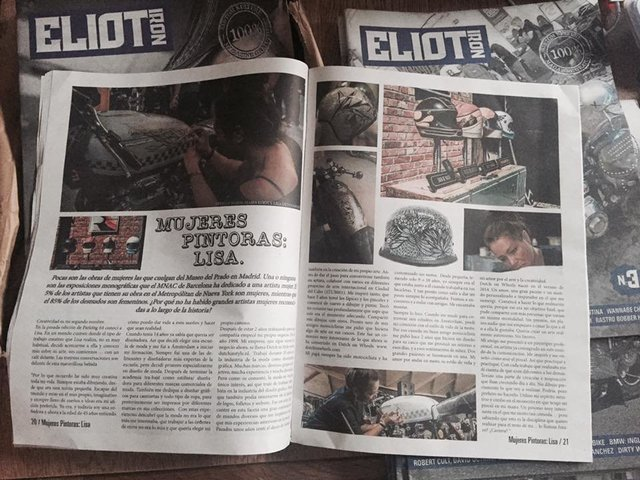 ELIOT IRON Magazine