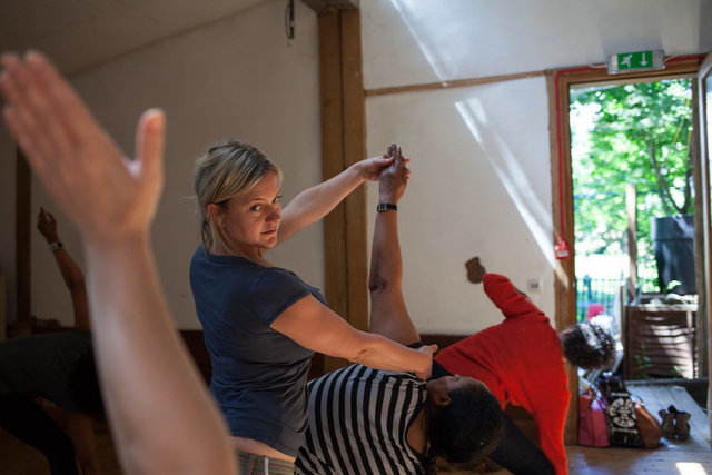 Ourmala: Yoga for refugees and asylum seekers