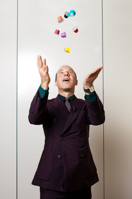 Giuseppe Lavazza, pour Les Echos Week-end