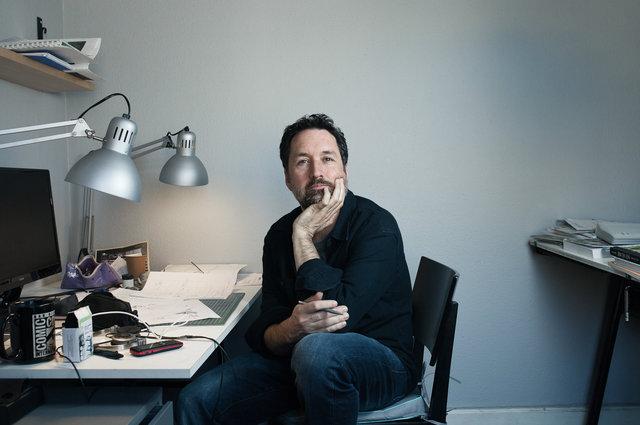 Guy Delisle, dessinateur, pour AR Magazine
