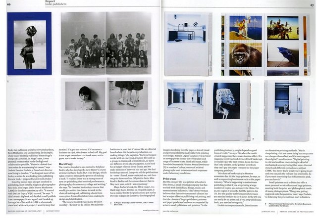 BRITISH JOURNAL OF PHOTOGRAPHY, 01.2012
