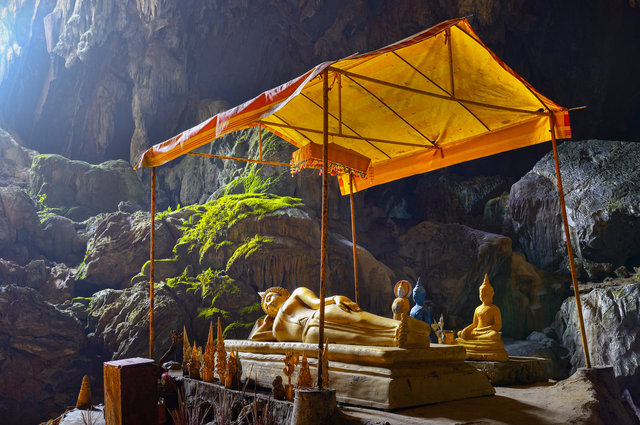 Natural temple - Laos