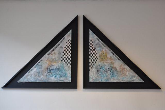 Memories 2 driehoeken , gem. techn.1.00x3.00.jpg