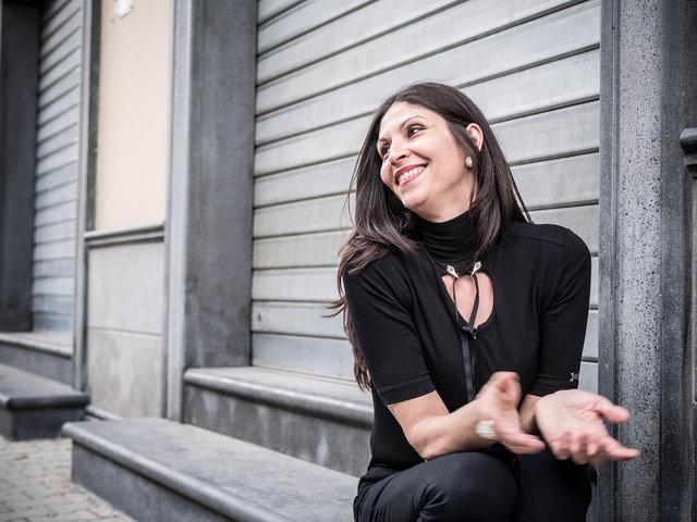 12.Elisabetta Corvino, candidata a sindaco durante le elezioni amministrative del 2014