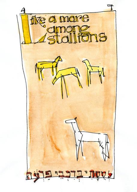 Like a mare among stallions