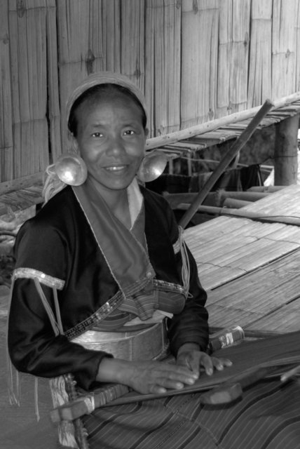 Karen Hill Tribe, Chiang Rai, Thialand