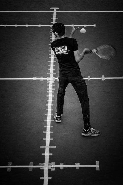 Blind Tennis World Championschips