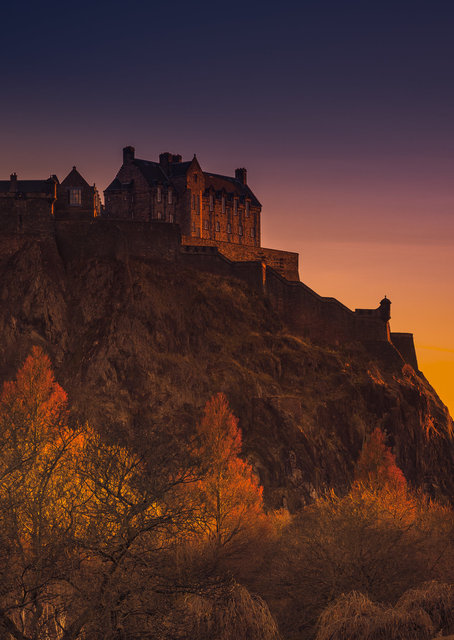 Edinburgh Castle Hill