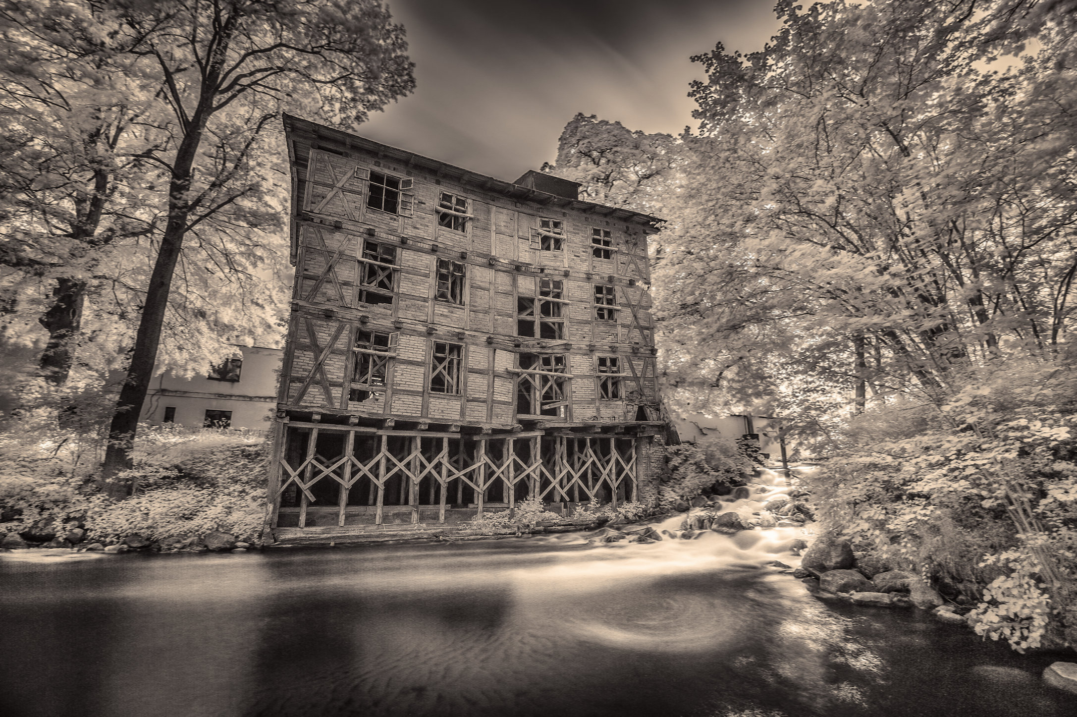 Old Watermill At Głęboczek