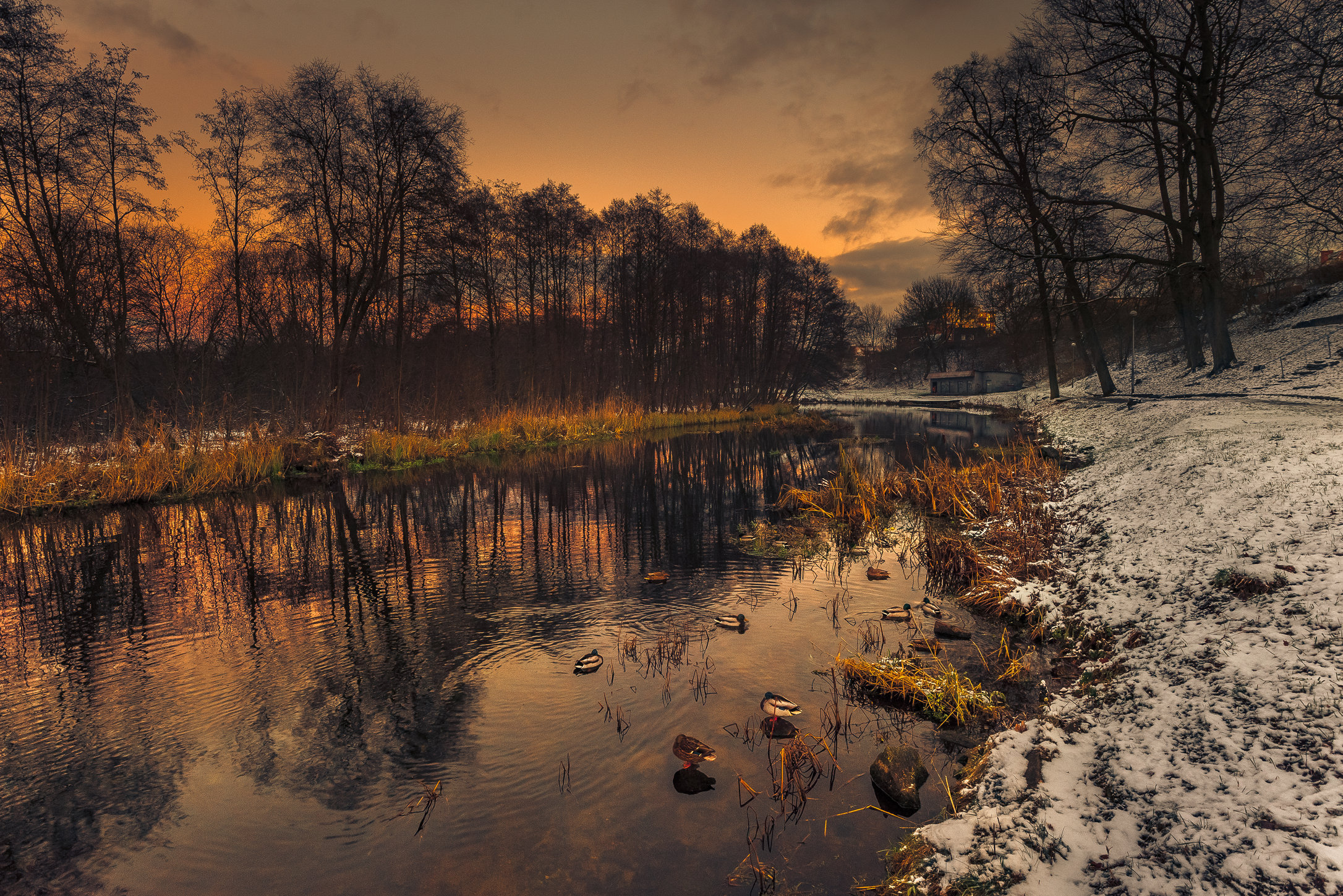 Sunset Over The River Drawa-MASTER COPY.jpg