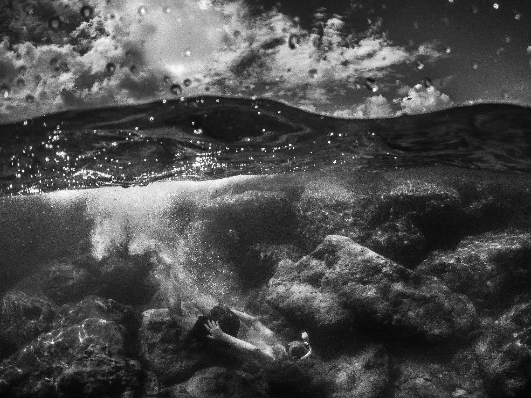 Split Shot Underwater Photography