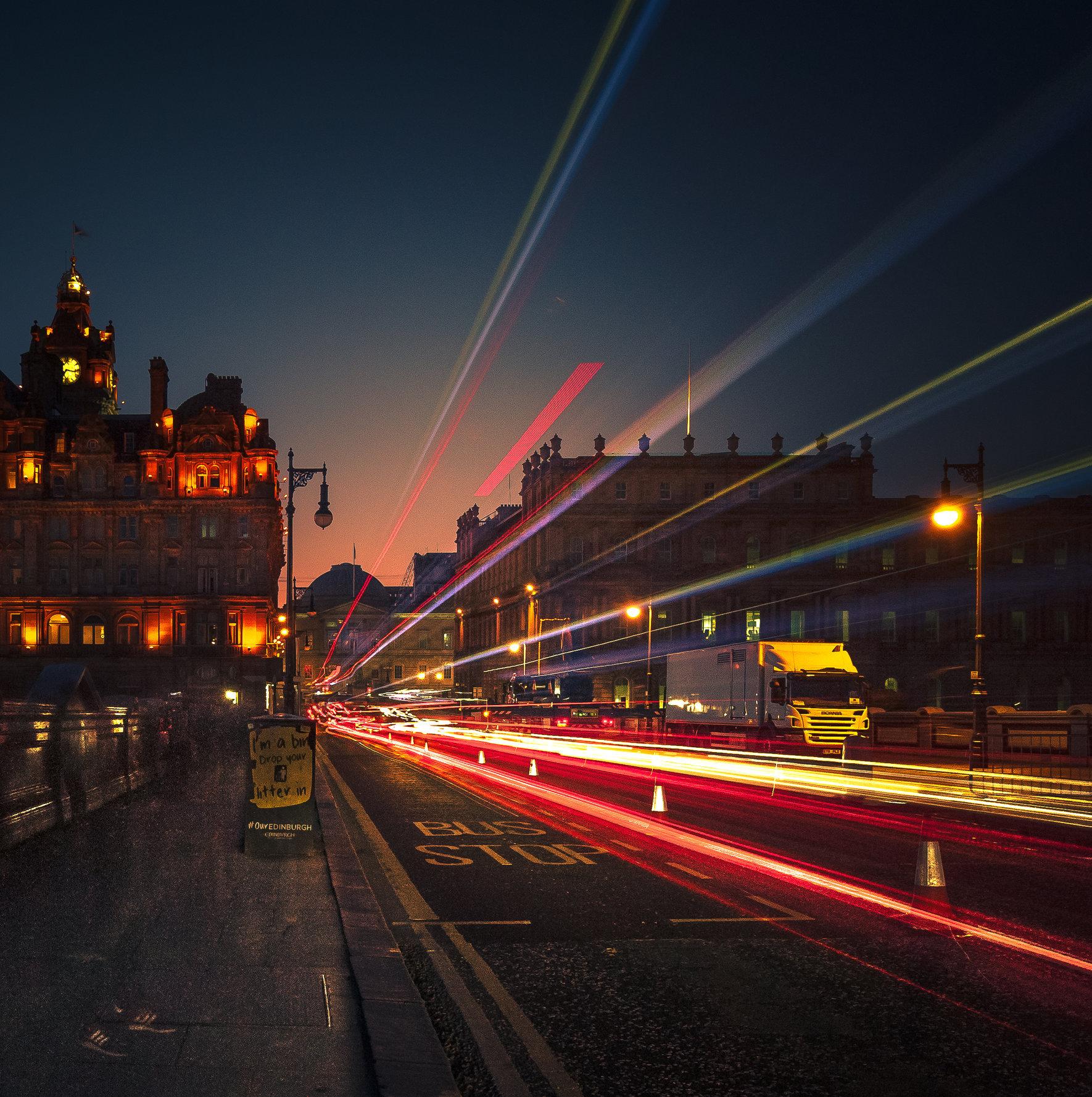 Through The City Lights