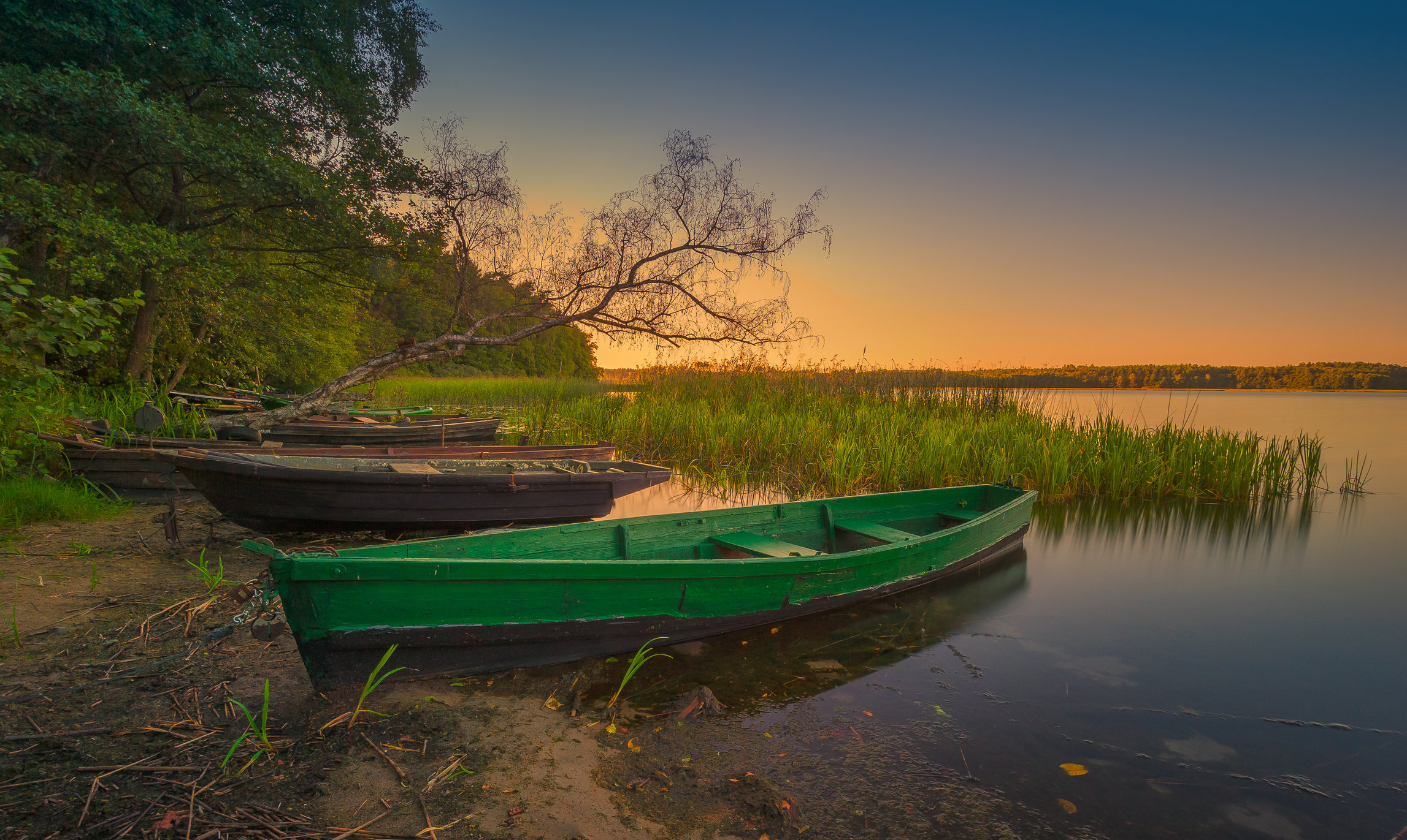 Wilczkowo Lake