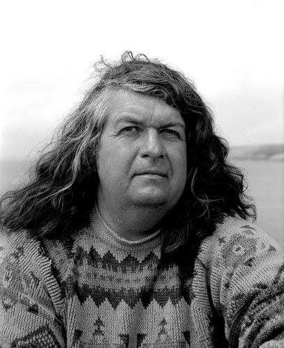 Michel Corrignan, marin-pêcheur, île de Ouessant, Finistère, 2001
