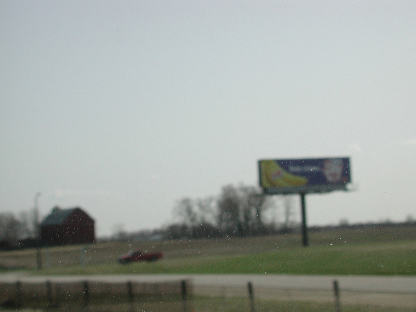 Commute #14 (barn & sign)