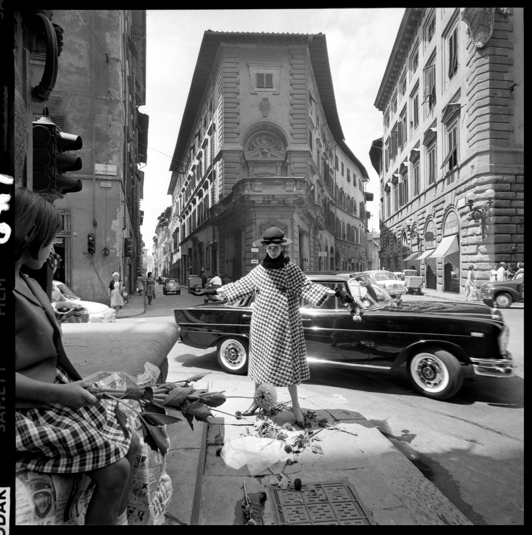 Vogue Magazine, Fashion shoot, Florence, 1962