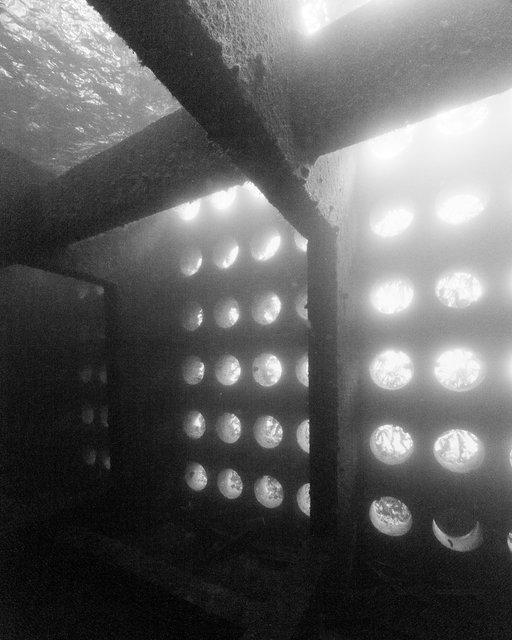 Structures immergées, Ouessant, 2013