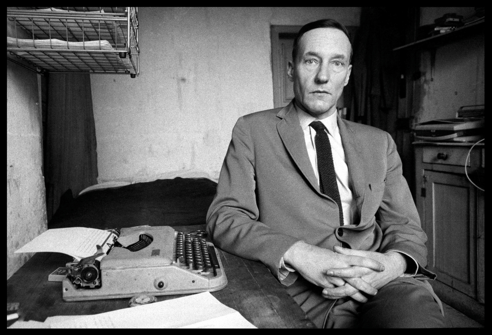 William Burroughs, Paris, 1960