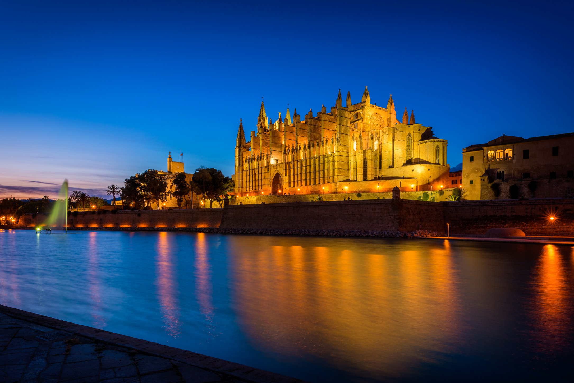 Cathedral La Palma Mallorca at Dusk Hi Res Getty.jpg