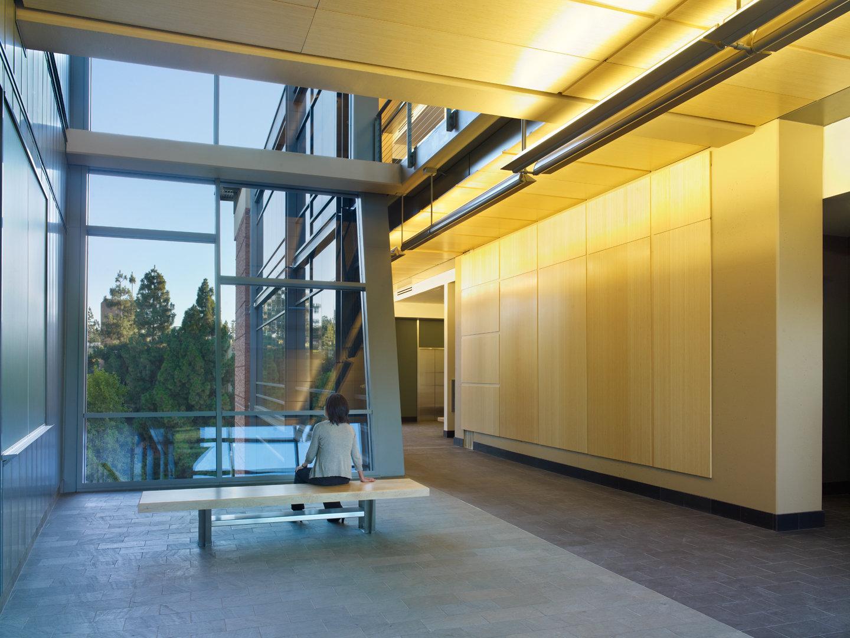 UCLA Life Sciences Research Bldg Atrium 2 of 3