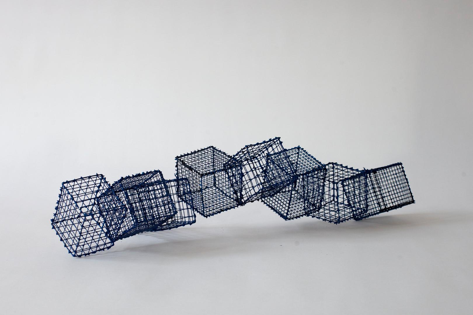 Surabaja (2007), (h12&20 x d8 x w55 cm)