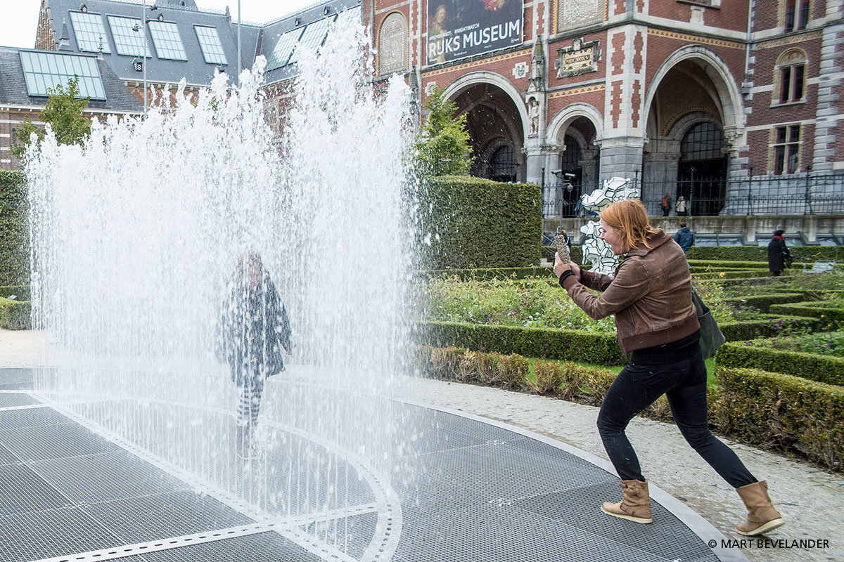 Rijksmuseum Amsterdam, Fontein