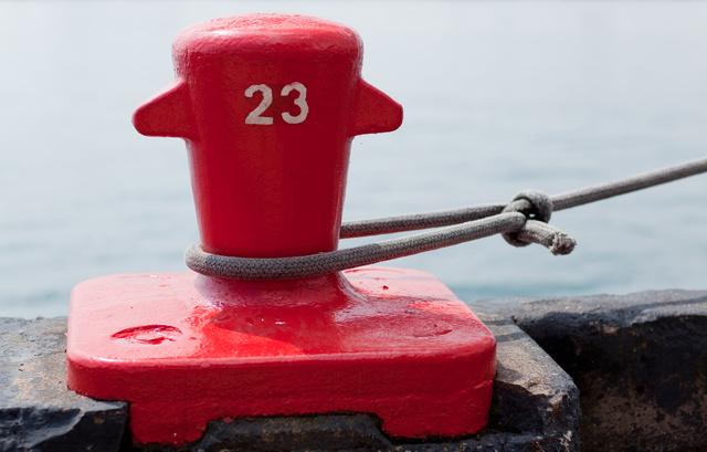 Mooring Bollard at Navy Pier