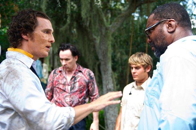 Matthew McConaughey, John Cusack, Zac Efron & Diretor Lee Daniels - THE PAPERBOY