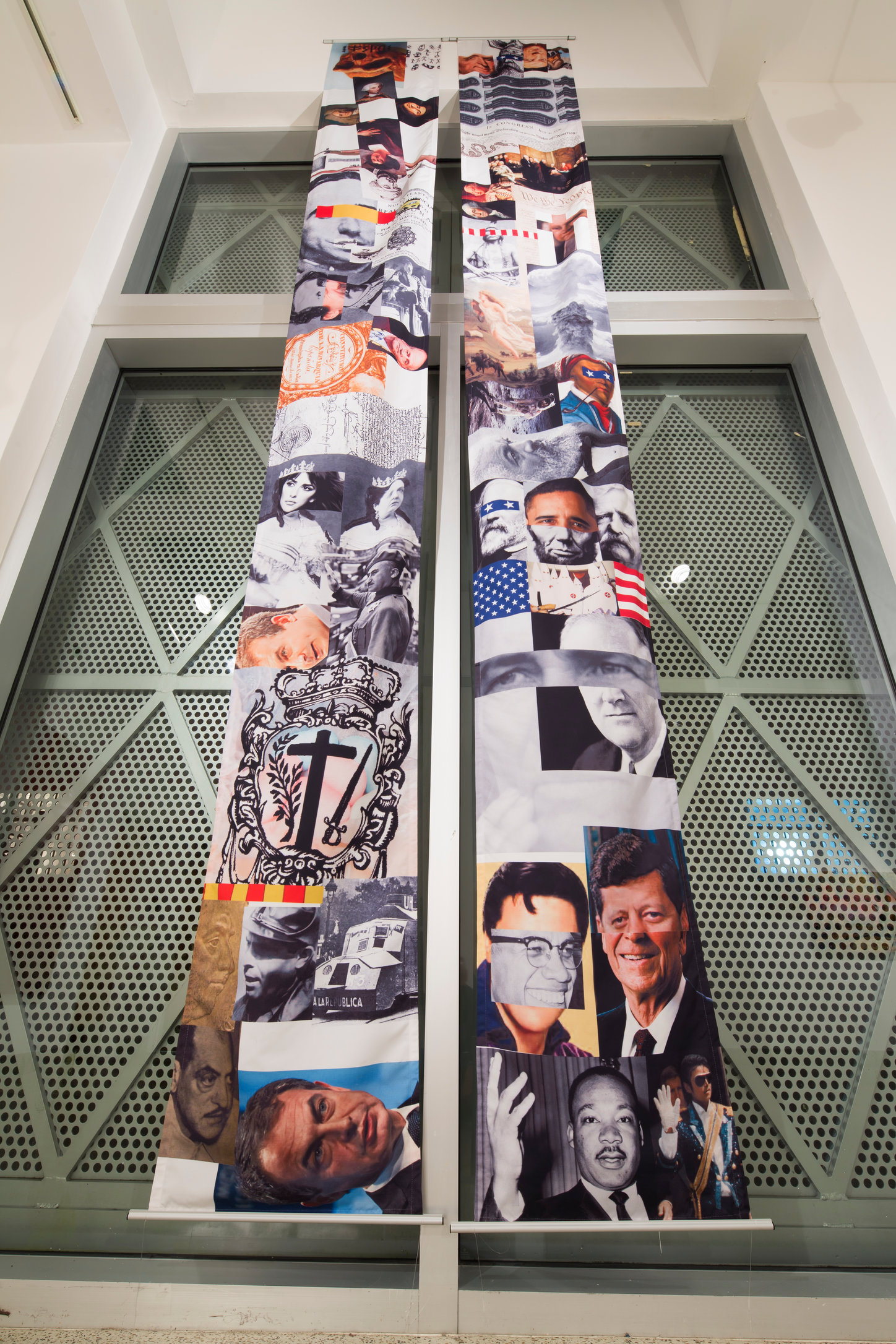 Memory Scrolls Installation at Little Haiti Cultural Center