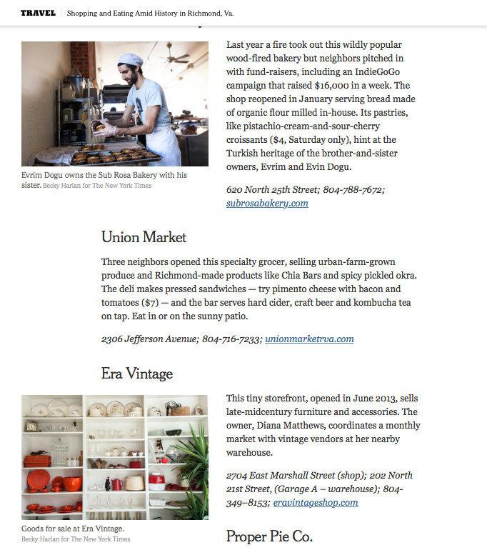 New York Times Travel