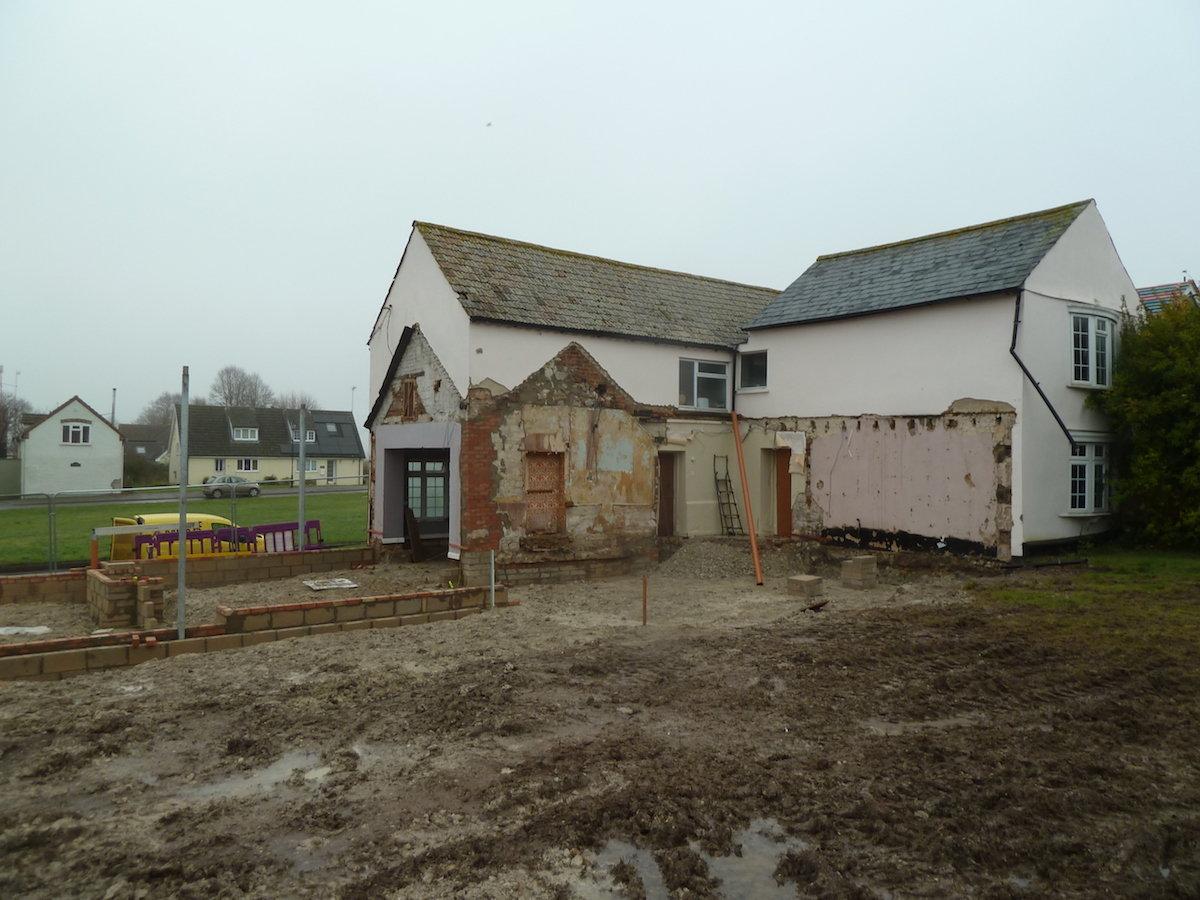 Fitzroy Farm, Fair Green, Reach. Dec 2017