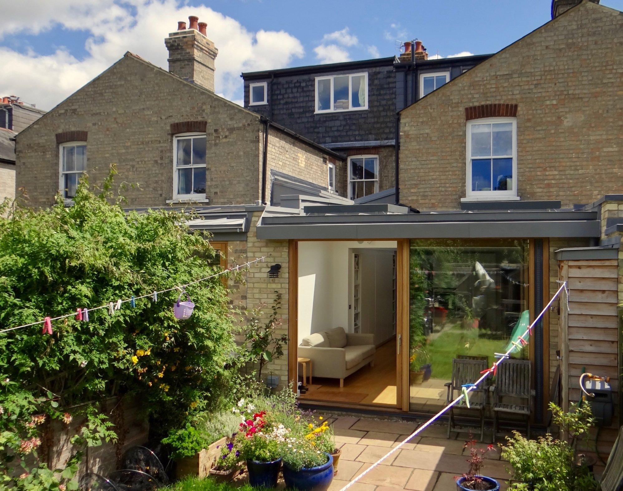 Eltisley Avenue Cambridge, 2 houses 2016-2017