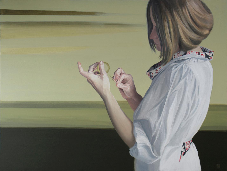 Bez tytułu, akryl na płótnie, 97x130, 2010