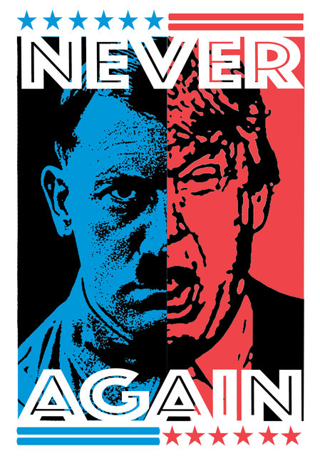 Political Activism Stickers-New Size_HITLER.jpg