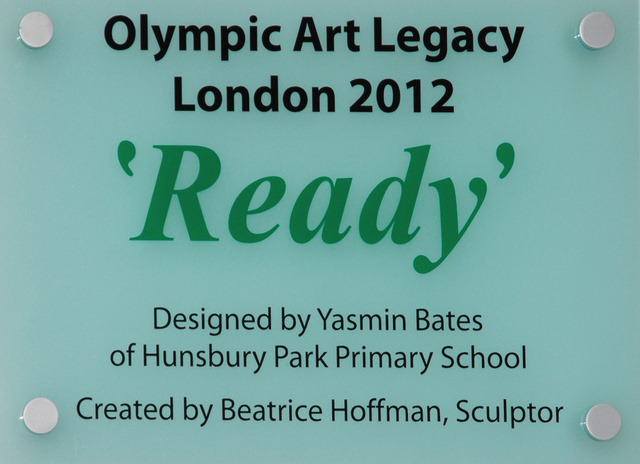 """Ready"" Painted Ceramic  2012"