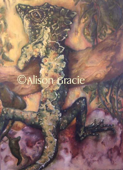 Genghis Garden by Alison Gracie