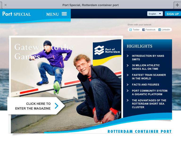 Port Of Rotterdam/site