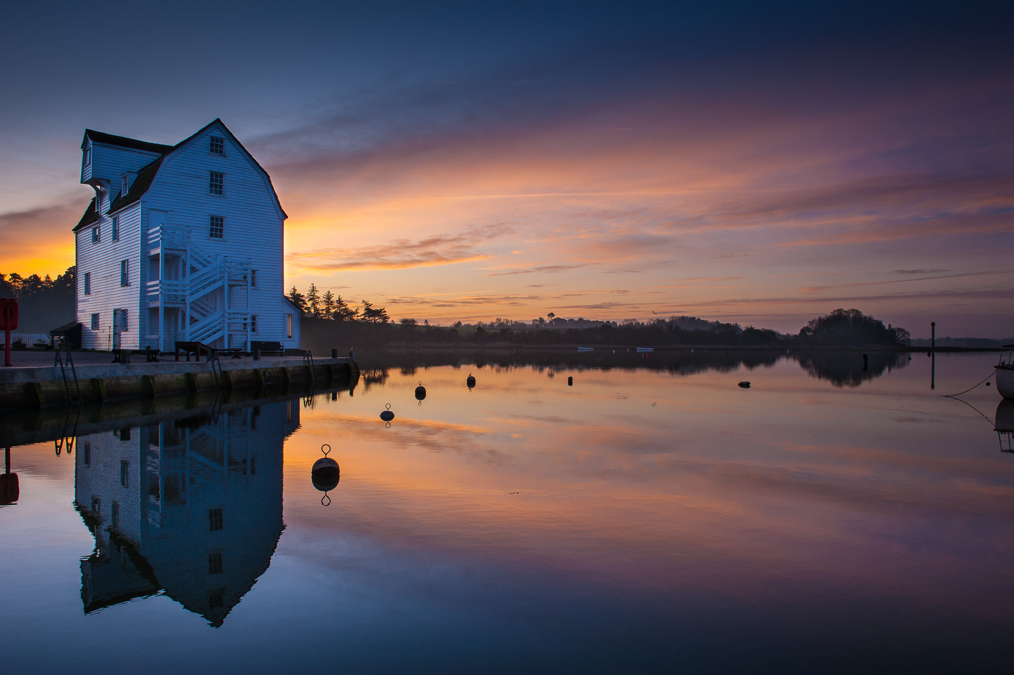 Woodbridge Tide Mill, Suffolk