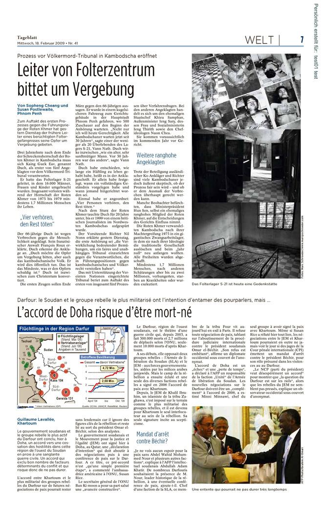 Tageblatt Luxembourg 1