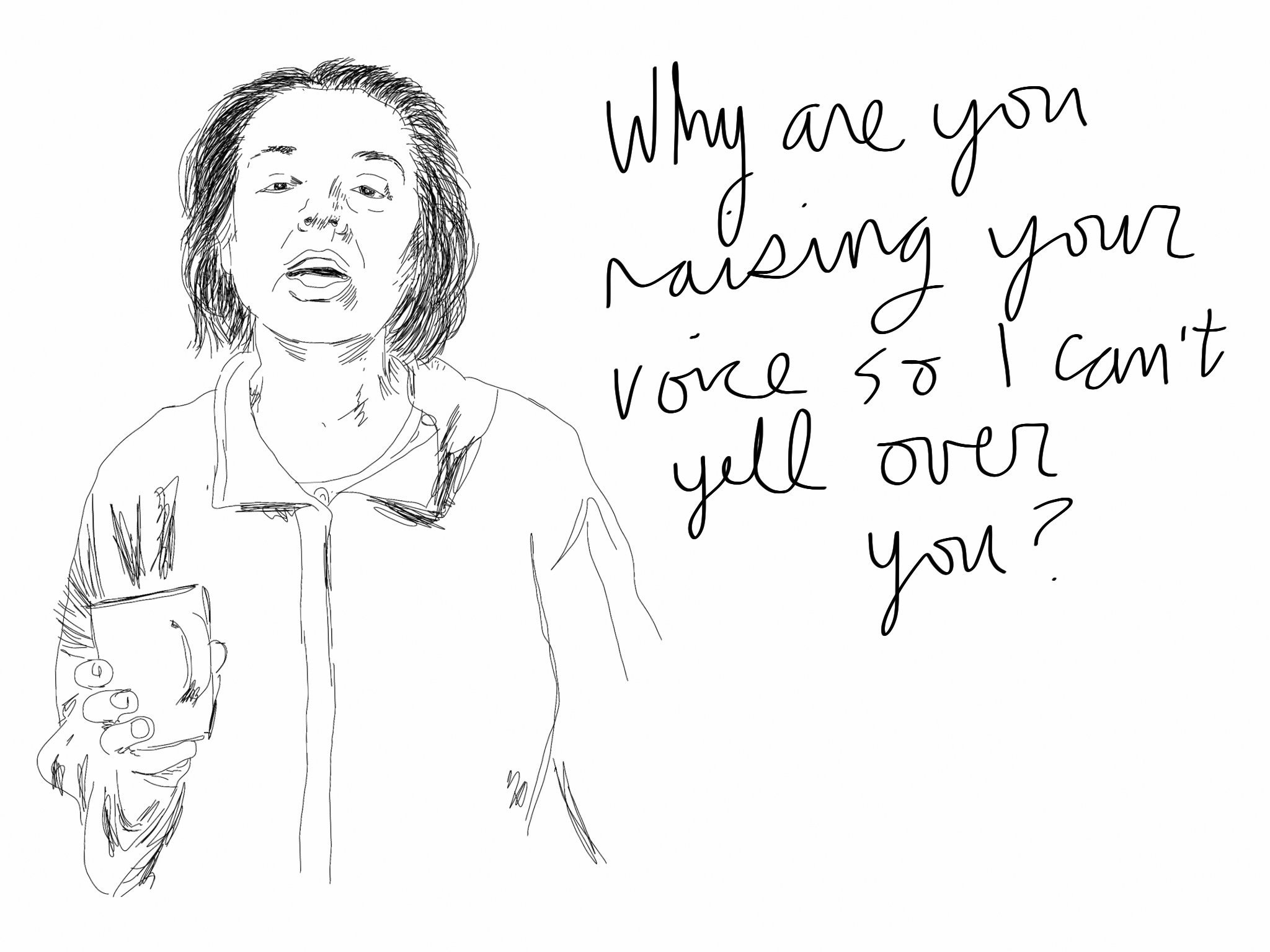 Raising your voice
