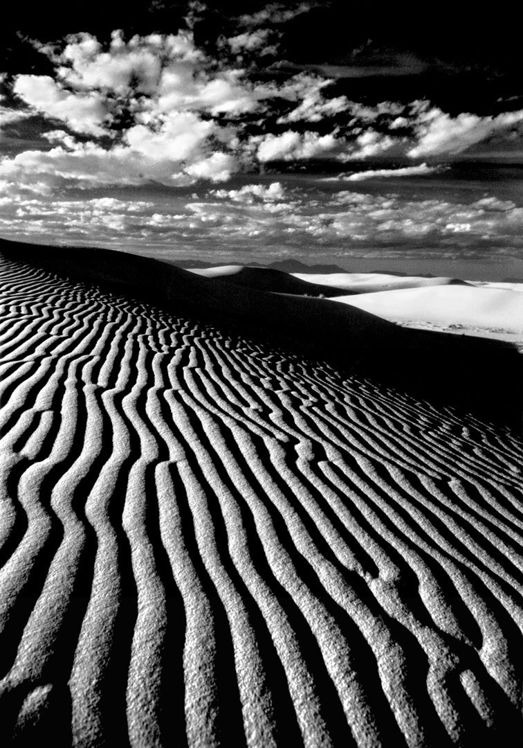 White Sands, New Mexico<br>Kodak Infrared film